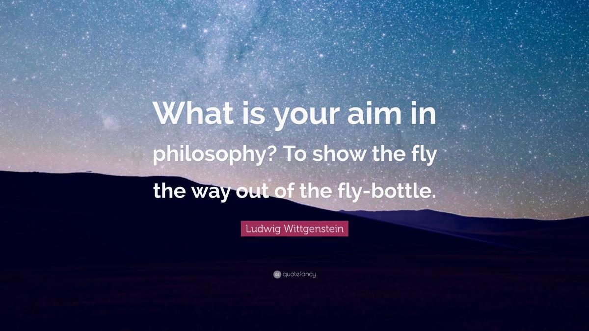 The Aim ofPhilosophy